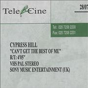Click here for more info about 'Cypress Hill - Can't Get The Best Of Me'