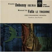 Click here for more info about 'Czech Philharmonic Orchestra - Debussy: Iberia & Ronde De Printemps / de Falla: Le Tricorne'