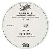 Click here for more info about 'D12 - Purple Pills / That's How... - double pack'