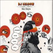 Click here for more info about 'DJ Shadow - Six Days'
