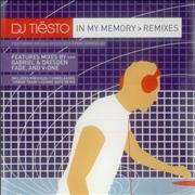 Click here for more info about 'DJ Tiesto - In My Memory - Remixes'