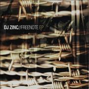 Click here for more info about 'DJ Zinc - Free Note EP'