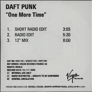 Click here for more info about 'Daft Punk - One More Time'