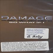 Click here for more info about 'Damage - So What If I - p/s'