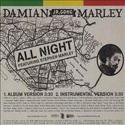 Click here for more info about 'Damian 'Jr. Gong' Marley - All Night'