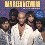 Click here for more info about 'Dan Reed Network - Lover / Money - Blue Vinyl'