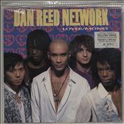 Click here for more info about 'Dan Reed Network - Lover / Money - Yellow vinyl'