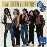 Click here for more info about 'Dan Reed Network - Rainbow Child - Yellow Vinyl - Poster Sleeve'