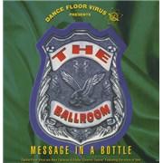 """Dance Floor Virus Message In A Bottle UK 12"""" vinyl"""