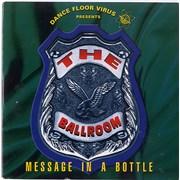 Dance Floor Virus Message In A Bottle UK CD single