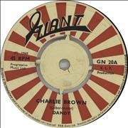"Dandy Livingstone Charlie Brown UK 7"" vinyl"