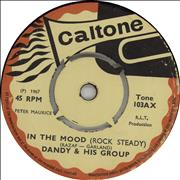 "Dandy Livingstone In The Mood (Rock Steady) UK 7"" vinyl"