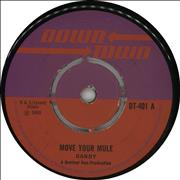 "Dandy Livingstone Move Your Mule UK 7"" vinyl"