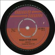 "Dandy Livingstone Reggae In Your Jeggae UK 7"" vinyl"