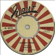 "Dandy Livingstone Sweet Ride UK 7"" vinyl"