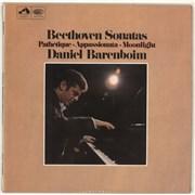 Click here for more info about 'Daniel Barenboim - Beethoven Sonatas: Pathertique, Appassionata, Moonlight'