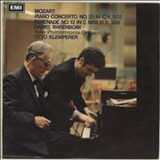 Click here for more info about 'Daniel Barenboim - Mozart: Piano Concerto No.25 in C, K.503 / Serenade No.12 in C Minor, K.388'