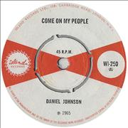 Click here for more info about 'Daniel Johnson - Come On My People'