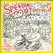 Click here for more info about 'Daniel Johnston - Speeding Motorcycle - Yellow Vinyl'