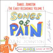 Click here for more info about 'Daniel Johnston - The Early Recordings Volume 1 - Signed Booklet'