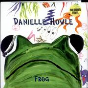 Click here for more info about 'Danielle Howle - Frog - Clear Vinyl'