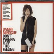 Click here for more info about 'Dannii Minogue - Don't Wanna Lose This Feeling'