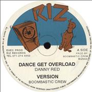 Click here for more info about 'Danny Red - Dance Get Overload / Automatic Sound Killer'
