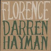 Click here for more info about 'Darren Hayman - Florence - Sealed'