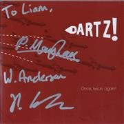 Click here for more info about 'Dartz! - Once, Twice, Again! - Autographed'