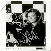 Click here for more info about 'Daryl Hall - Signed Publicity Photograph'