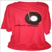 Click here for more info about 'Dashboard Confessional - Record T-Shirt - XL'