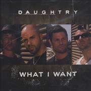 Click here for more info about 'Daughtry - What I Want'