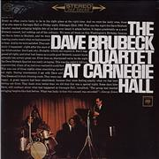 Click here for more info about 'Dave Brubeck - At Carnegie Hall - Sealed'