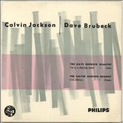 Click here for more info about 'Dave Brubeck - Calvin Jackson / Dave Brubeck'