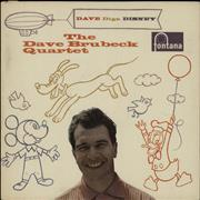 Click here for more info about 'Dave Brubeck - Dave Digs Disney - 1st'