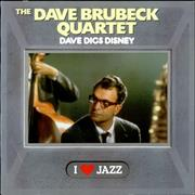 Click here for more info about 'Dave Brubeck - Dave Digs Disney - promo stamp + sticker'
