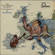 Click here for more info about 'Dave Brubeck - In Europe - VG'