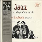 Click here for more info about 'Dave Brubeck - Jazz At College Of Pacific + obi'
