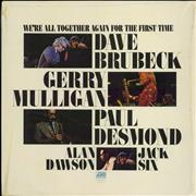 Click here for more info about 'Dave Brubeck - We're All Together Again For The First Time - shrink'