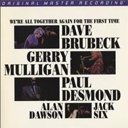 Click here for more info about 'Dave Brubeck - We're All Together Again For the First Time - 200gm'