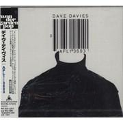 Dave Davies AFL1-3603 Japan CD album Promo