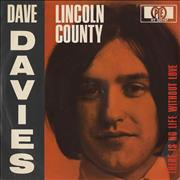 Click here for more info about 'Dave Davies - Lincoln County'