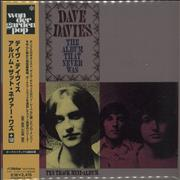 Dave Davies The Album That Never Was Japan CD album Promo