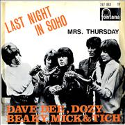 Click here for more info about 'Dave Dee, Dozy, Beaky, Mick & Tich - Last Night In Soho'
