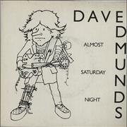Click here for more info about 'Dave Edmunds - Almost Saturday Night'