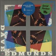 Click here for more info about 'Dave Edmunds - Something About You Baby - Stickered Sleeve'