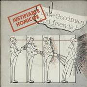 Click here for more info about 'Dave Goodman & Friends - Justifiable Homicide - Red Vinyl'