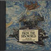 Dave Greenslade Terry Pratchett's From the Discworld UK CD album