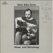 Click here for more info about 'Dave John Grew - Alone And Dreaming - Autographed'