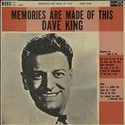 Click here for more info about 'Dave King - Memories Are Made Of This'